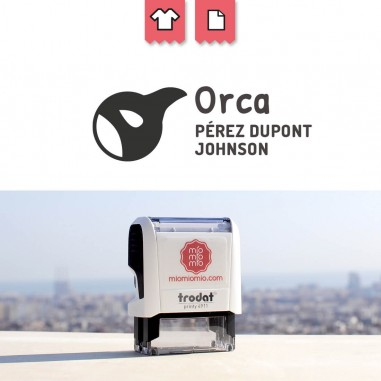 Stamp Orca