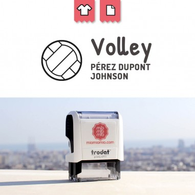Stamp Volleyball