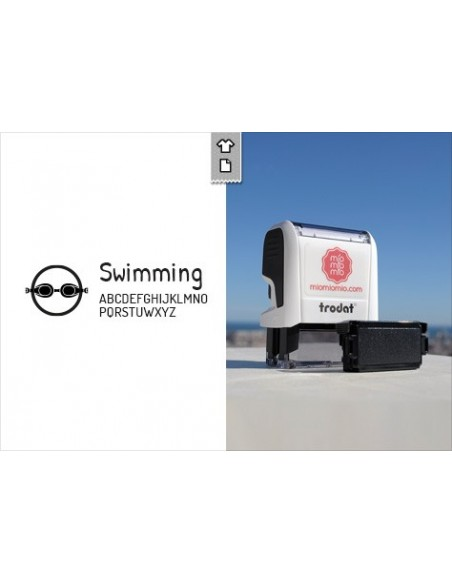 Stamp Swimming