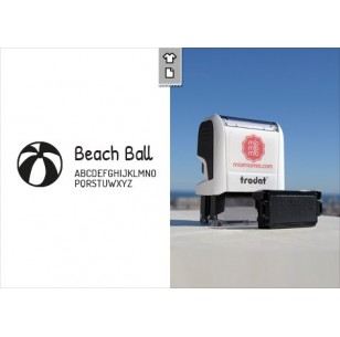 Stamp Beach Ball