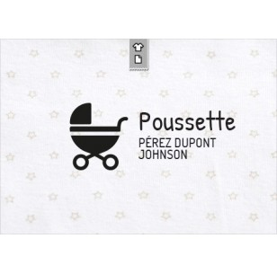 Stamp Poussette