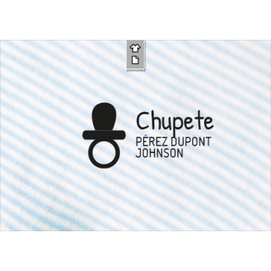 Stamp Chupete