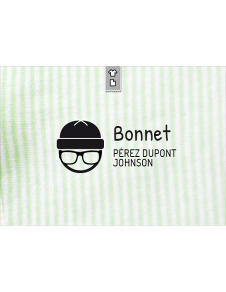 Sello marca ropa Bonnet