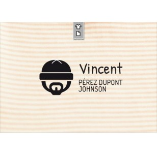 Sello marca ropa Vincent